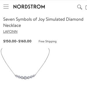 🌸BRAND NEW🌸 Silver Laffon Necklace
